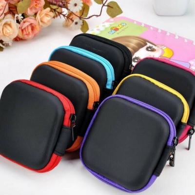 กระเป๋าเก็บหูฟังเก็บเหรียญ คละสี
