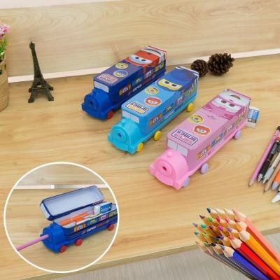 กล่องดินสอ กล่องดินสอเหล็กลายการ์ตูน  พกพาง่าย คละแบบ