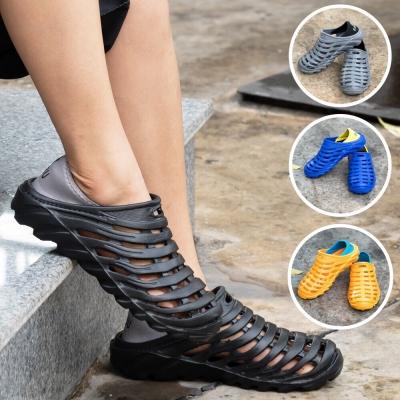 รองเท้าลำลองชาย หัวปิดแบบรัดส้น  คละ size คละสี