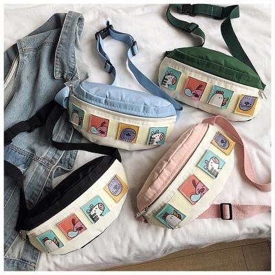 กระเป๋าคาดอก ลายการ์ตูน มี 4 สี