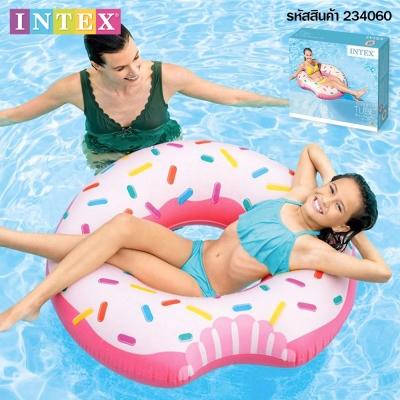 Intex ห่วงยางโดนัท 107 ซม. สีชมพู รุ่น 56265