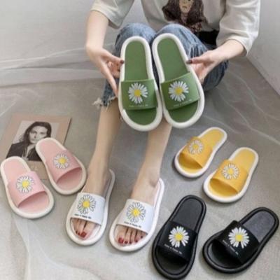 รองเท้าแตะดอกเก๊กฮวย สดใส มี 3 size 5 สี