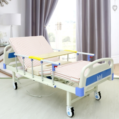 เตียงผู้ป่วย ไฟฟ้า A01 สีฟ้า