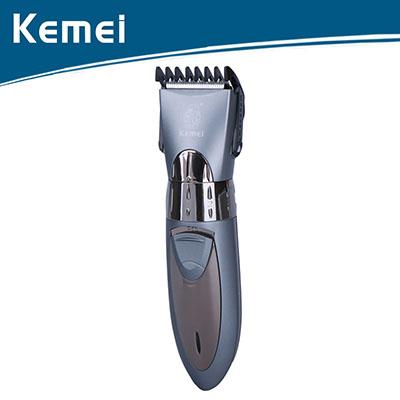 Kemei ปัตตาเลี่ยนไฟฟ้า ปัตตาเลี่ยนไร้สาย รุ่นKM-605 สีเทา
