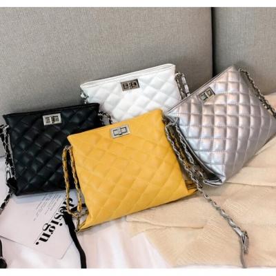 กระเป๋าสะพายข้าง ลุคคุณหนู มี 4 สีให้เลือก