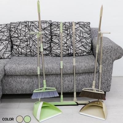 ชุดไม้กวาดและอุปกรณ์ทำความสะอาด 3in1  มี 2 สี