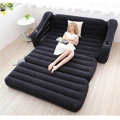 INTEX โซฟาเป่าลม ปรับนอนได้ Pull-Out Sofa Airbed โซฟา ที่นอน ที่นอนเป่าลม