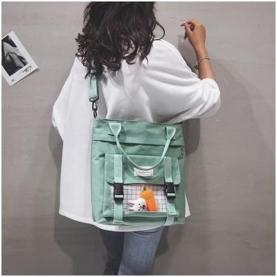 กระเป๋าสะพายข้าง ฟรีตุ๊กตากระต่าย+แครอท มี 3 สี