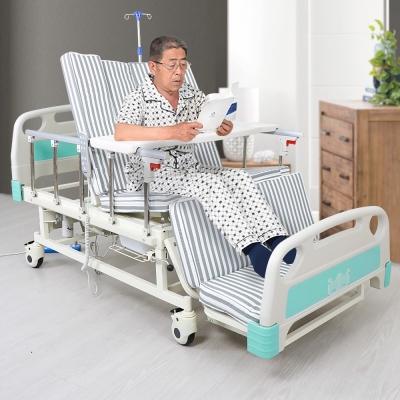 เตียงพยาบาลไฟฟ้า  เตียงผู้ป่วย มัลติฟังชั่น A02 (สีเขียว)