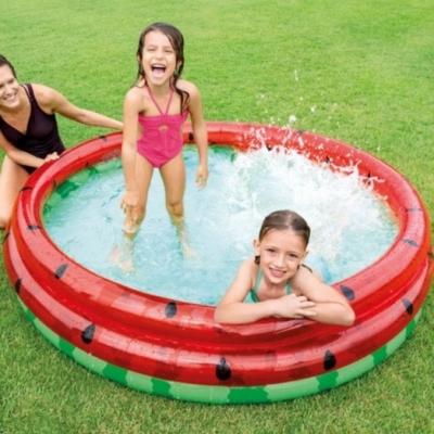 INTEX สระน้ำเป่าลม สระน้ำเด็ก สวนน้ำเป่าลม Watermelon Pool