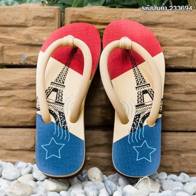 รองเท้าแตะรูปหอไอเฟล คละสี