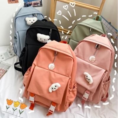 กระเป๋าเป้สไตล์ญี่ปุ่น 2 ช่องใหญ่น้องหมาน่ารัก มี 5 สี