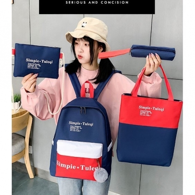 กระเป๋าเซต 4 ใบ Simpie Tuleqi มี 4 สี