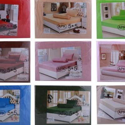 ชุดผ้าปูที่นอน 5x5 คละสี