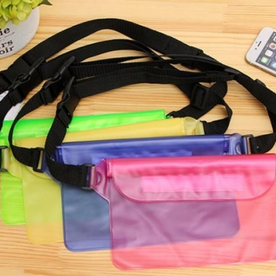 กระเป๋าคาดอกกันน้ำ คละสี