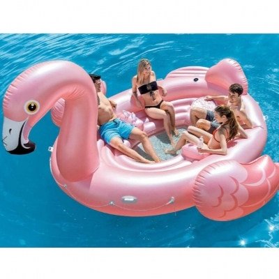 INTEX แพเป่าลม Flamingo Party Island