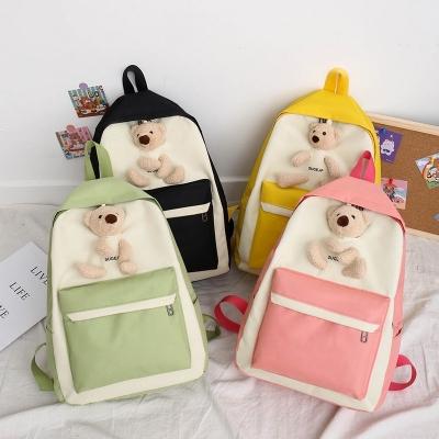 เซ็ทกระเป๋าน้องหมี มี 4 ชิ้นในเซ็ท สีพลาลเทส มี 4 สี