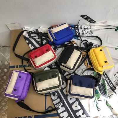 กระเป๋าสะพายข้าง มีกระดุมติดด้านหน้า สินค้ามาใหม่ มี 7 สี