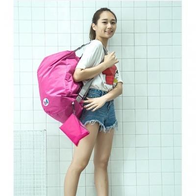 กระเป๋าสะพายด้านหลัง ทรง sport พับได้ มี 2 สี
