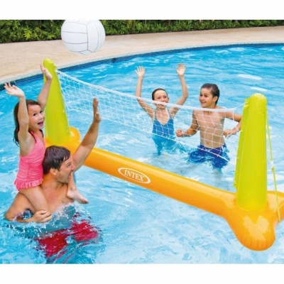 INTEX ของเล่นในน้ำ Pool Volleyball Game Set