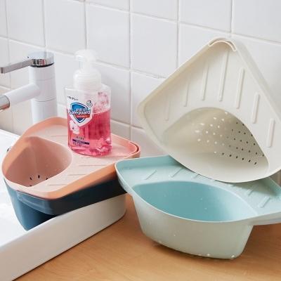 ตะกร้าเข้ามุม ระบายน้ำ ห้องครัว มี 4 สี