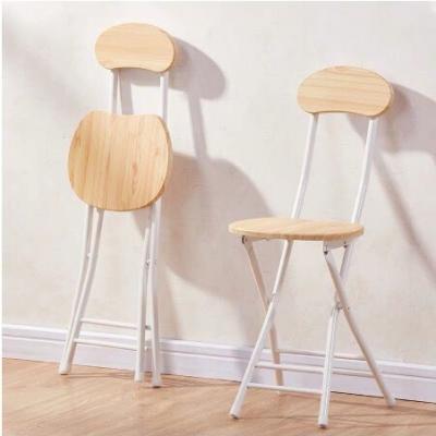 เก้าอี้ทรงกลม สีไม้